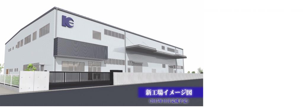 協和精工 新工場